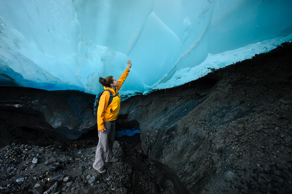 Mendenhall Ice Cave